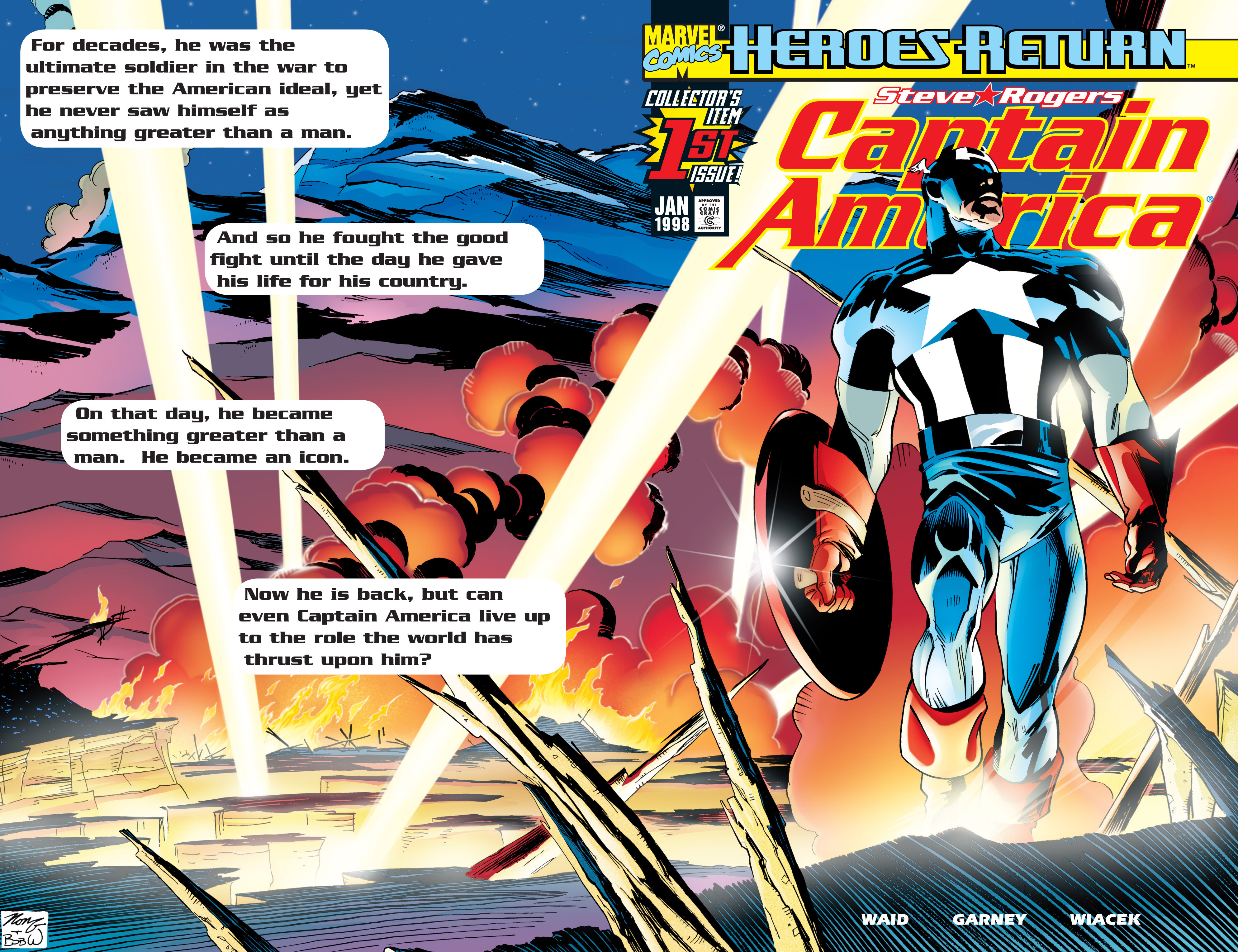 Captain America (1998) Issue #1 #4 - English 2