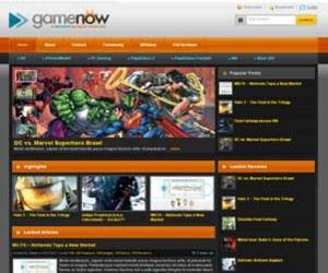 GameNow Blogger Template