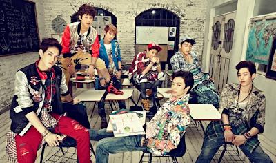 BTOB members Wow