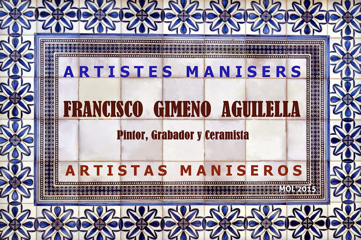 ARTISTES MANISERS: FCO GIMENO AGUILELLA