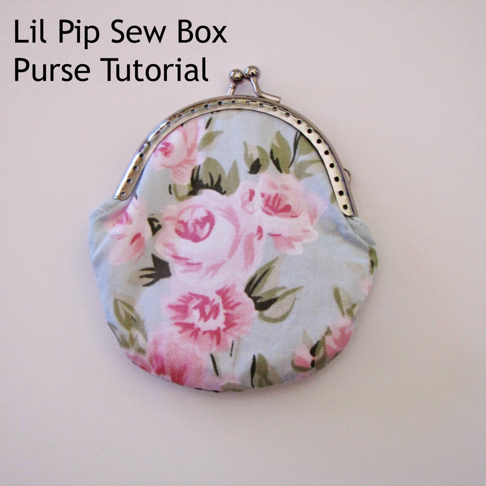 Lil Pip Sew Box Purse Tutorial