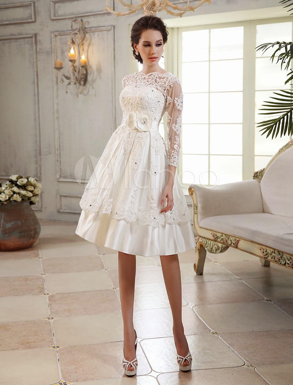 TODA MUJER ES BELLA: Vestidos de Novia baratos 2014- Fotos