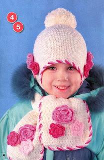 Схемы вязания шарфов для девочек.