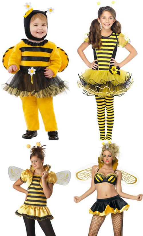 Evolución de los trajes de halloween con la edad