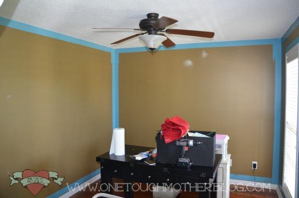 behr v glidden paint comparison craft room sneak peek sweet tea
