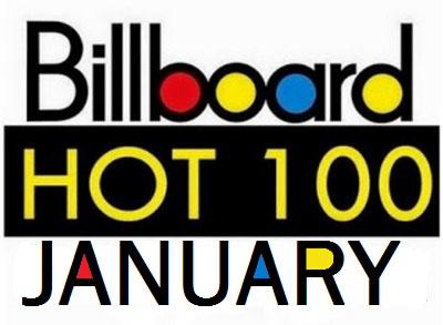 10 Tangga Lagu Barat Januari 2016