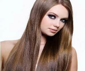 Rambut Panjang dan Lurus