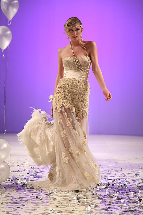 Veronica de la Canal primavera verano 2014, moda vestidos 2014.