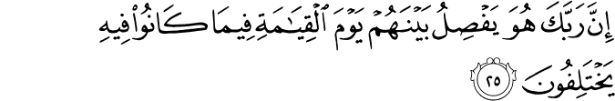 Surat As Sajdah Ayat 25