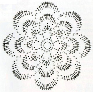Как связать заколку с цветами крючком: схема и методика вязания
