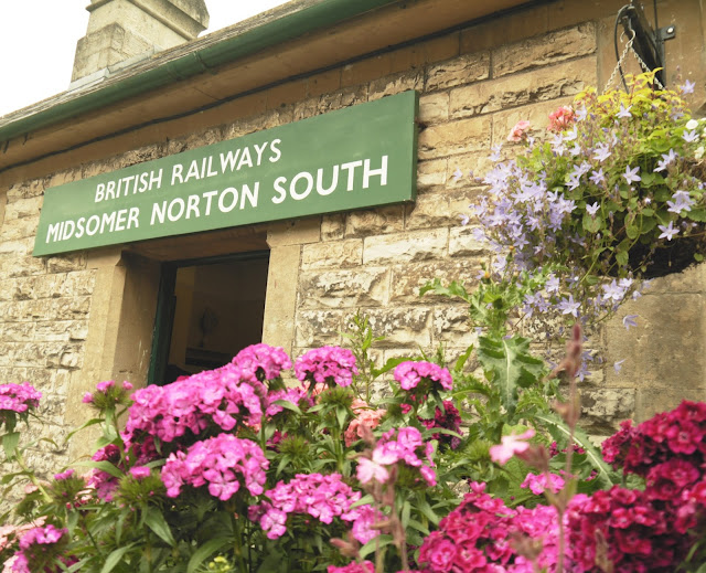 Midsomer Norton South Heritage Railway Station
