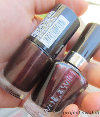 Maybelline Auburn Ablaze /  Wet n Wild Megalast Under Your Spell