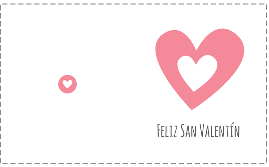 Manualidades enero 2014 - Postales dia de san valentin ...
