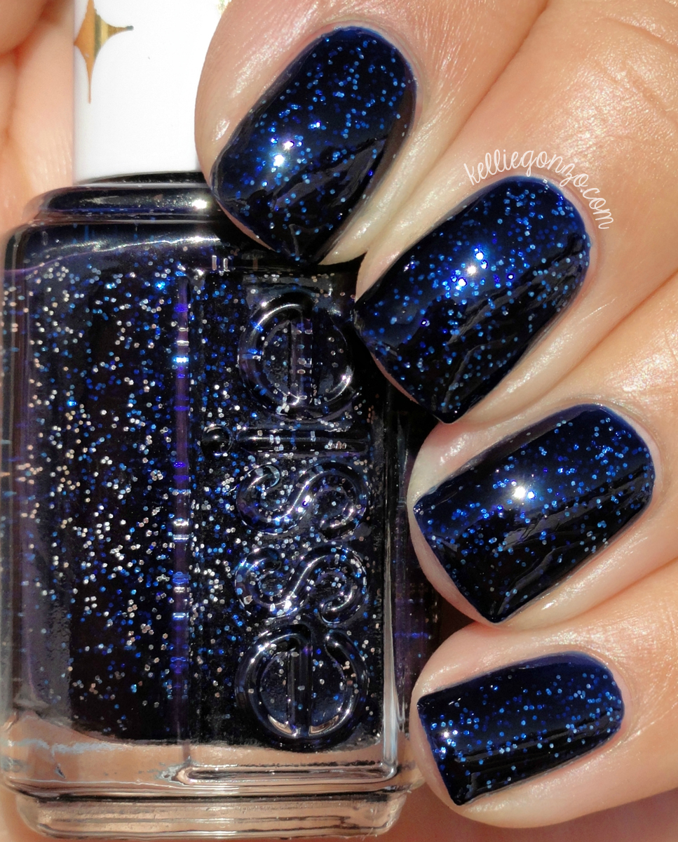 KellieGonzo: Essie Retro Revival: Starry Starry Night Swatch & Review