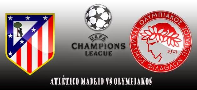Poker Online : Prediksi Skor Atletico Madrid vs Olympiakos 27 November 2014
