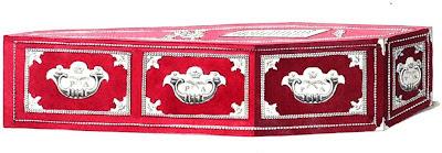 Princess Amelia's coffin  from La Belle Assemblée (1810)