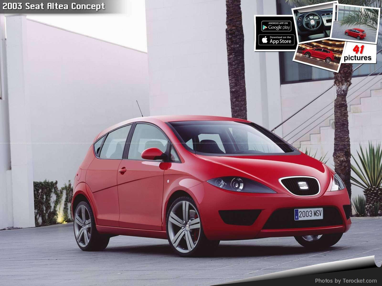 Hình ảnh xe ô tô Seat Altea Concept 2003 & nội ngoại thất