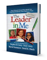 The Leader in Me book