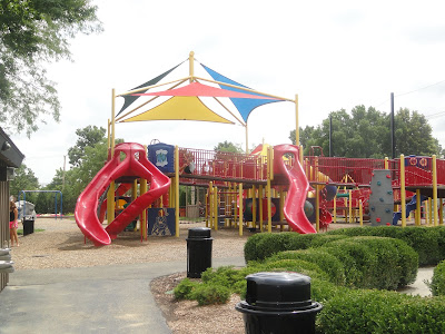 Warren Township Center Playground - Big Kids Structure