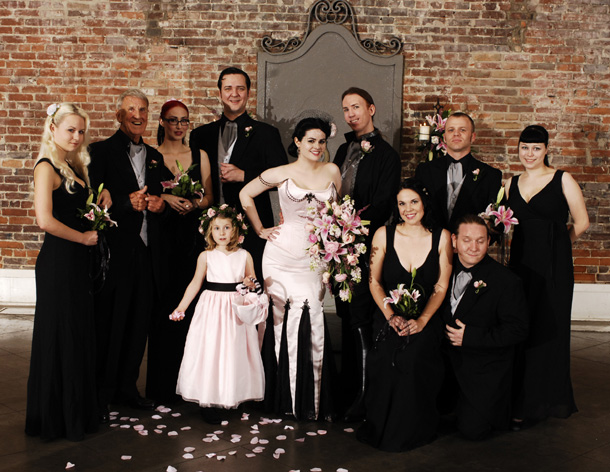Wedding bridesmaid dresses black