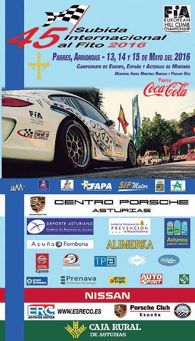 Subida al Fito 2016 - Informações (European Hillclimb Championship)