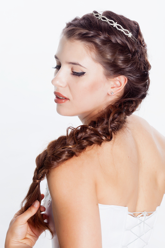If The Ring Fits: WEDDING HAIRSTYLES FOR THE BRIDE