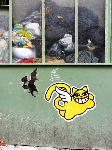 Canal square le street art et les limites de la loi sur - Loi sur les chats et le voisinage ...