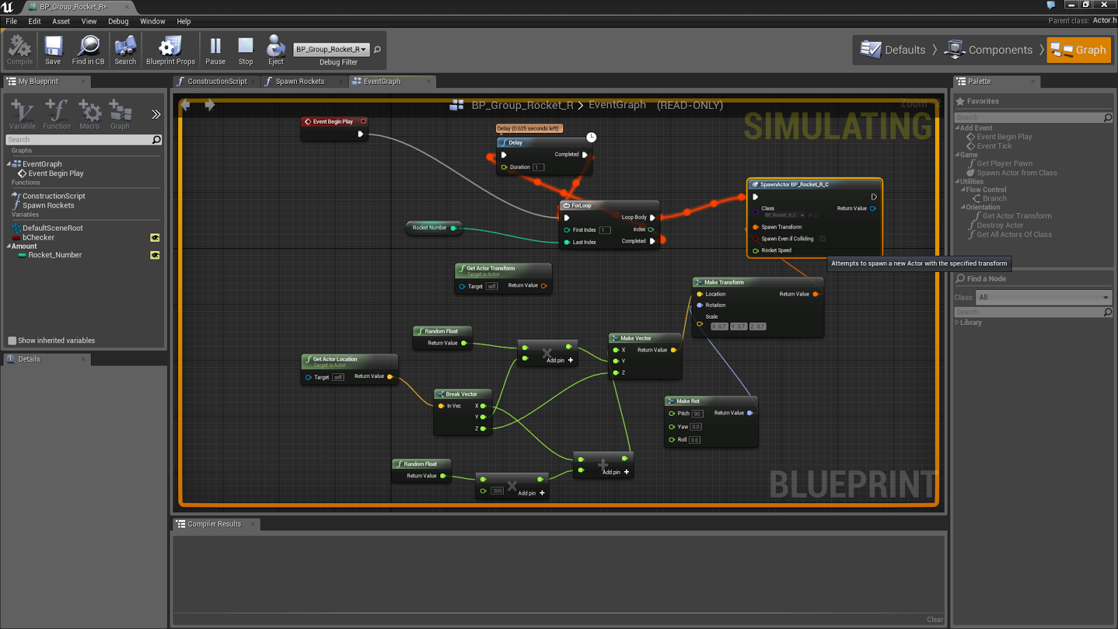 Engine research unreal engine 4 alex clark year 3 games art blueprint is a form of visual scripting that comes free with the engine designed to be much easier to learn than standard code language but just as malvernweather Choice Image