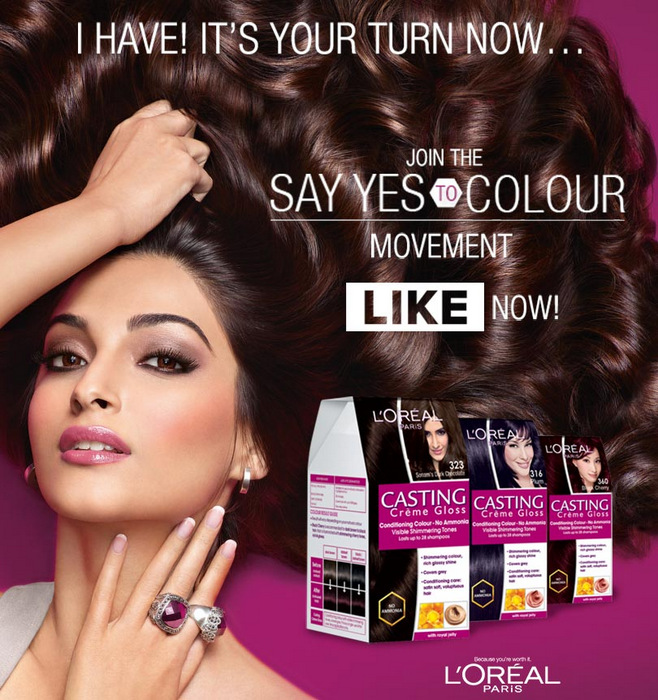 Loreal Hair Color - Hair Highlighting