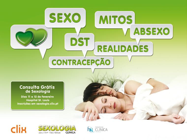 Consultas gratuitas de sexologia dias 11 e 12 de Fevereiro de 2010