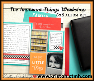 """The Important Things"" 6x8 album kit"