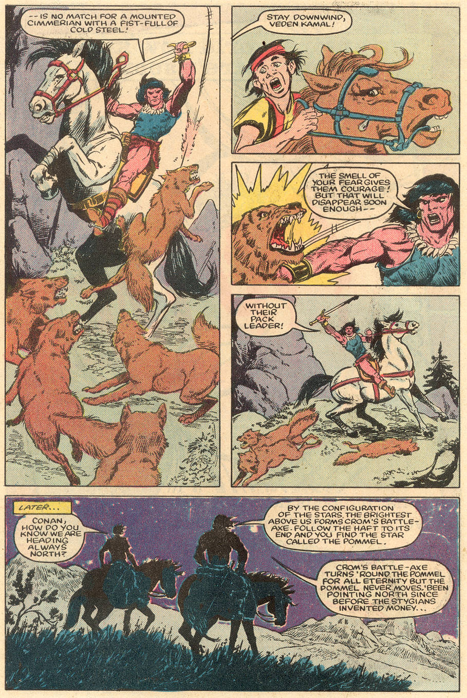 Conan the Barbarian (1970) Issue #164 #176 - English 7