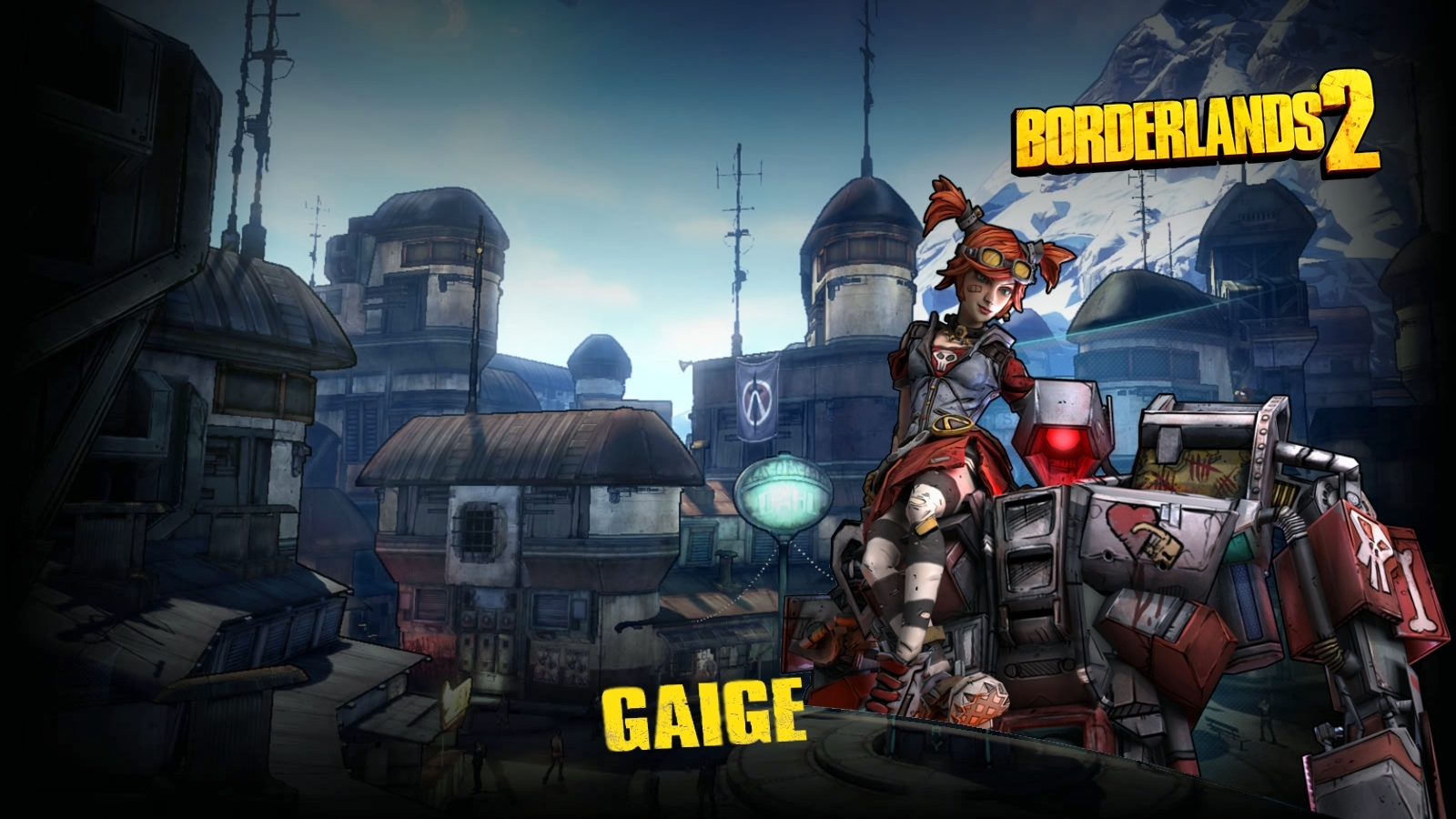 Borderlands 2 gaige wallpaper