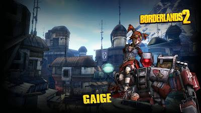 Gaige Borderlands 2 Wallpaper