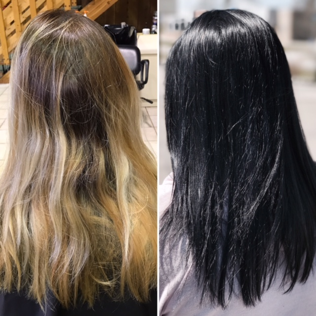Blonde to Black