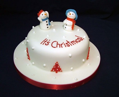 Christmas cakes pictures 2012 christmas cake decorations for Decoration ideas for christmas cake