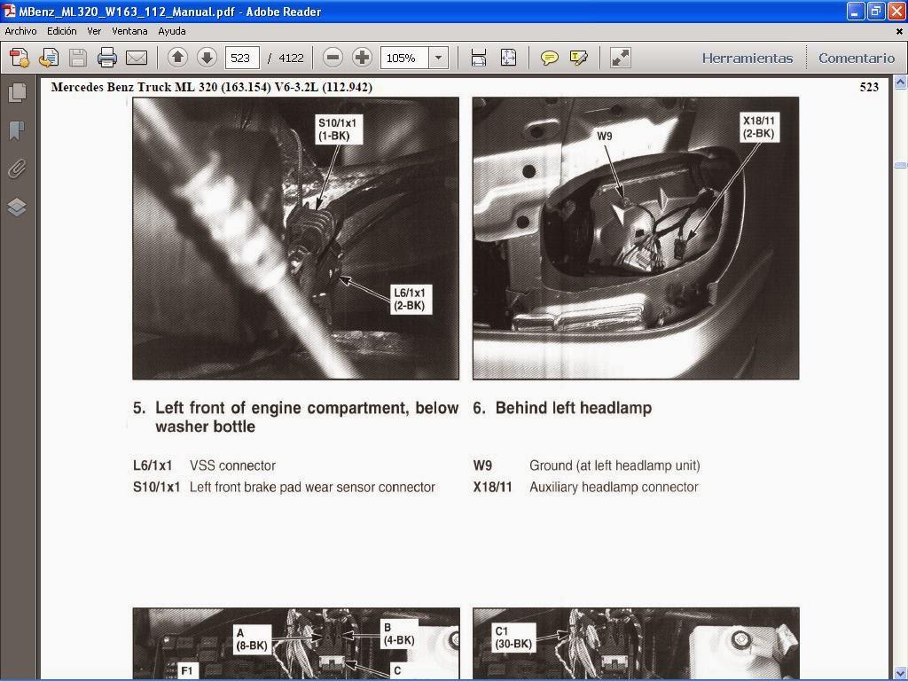 manuales de taller de mercedes benz rh manuales mercedesbenz blogspot com manual taller mercedes c220 cdi Manual De Manejo En Espanol