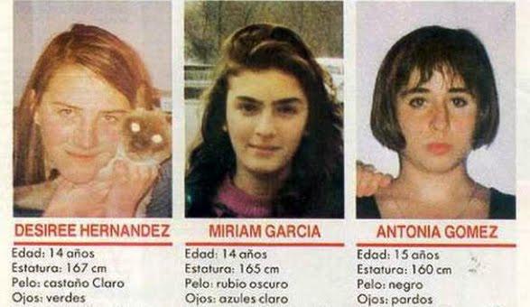 Los nombres prohibidos de los asesinos de las tres niñas de Alcasser