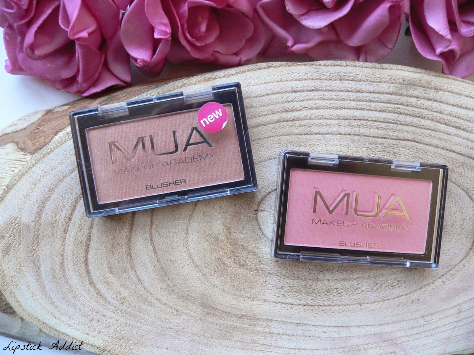 Make up academy Mua blush review shade 2 shade 6 swatches swatch
