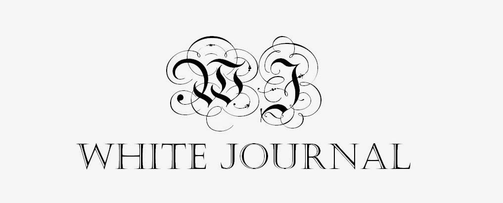 WHITE JOURNAL by Marissa Abigail
