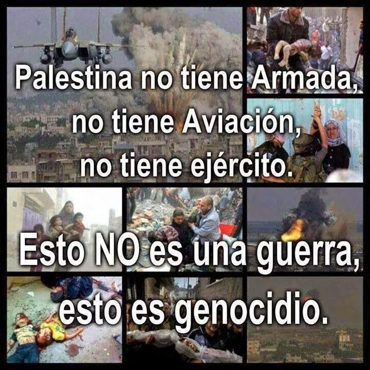 Genocídio palestino.