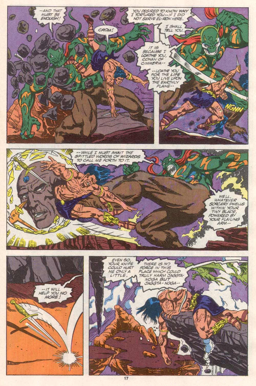 Conan the Barbarian (1970) Issue #243 #255 - English 14