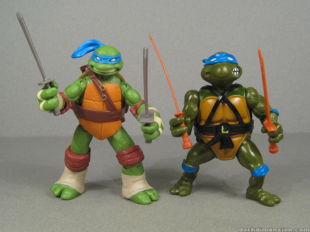 Teenage Mutant Ninja Turtles 2012 Toys : Dork dimension toy review teenage mutant ninja turtles