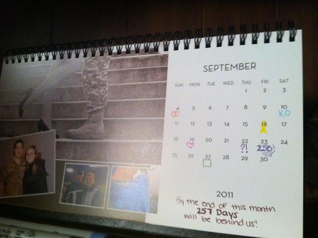 Printable Deployment Calendar Countdown   New Calendar Template Site