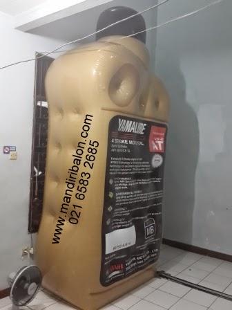 Balon Promosi Botol Oli