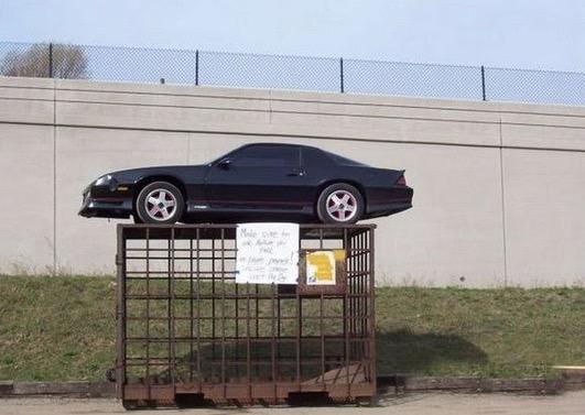 Akibat Parking Kereta Sesuka Hati