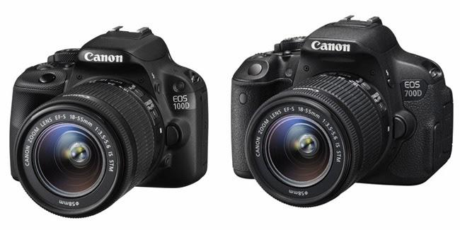 Canon EOS Rebel SL1, X7 EOS Kiss, Hybrid CMOS AF II, procesador DIGIC 5, vídeo Full-HD, cámara pequeña DSLR,
