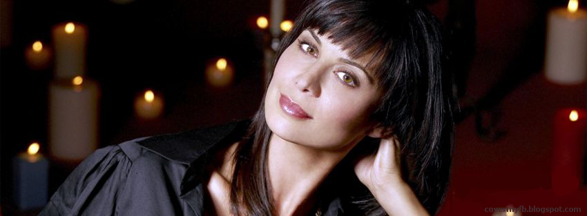 Gorgeous Facebook Cover Of Catherine Bell.