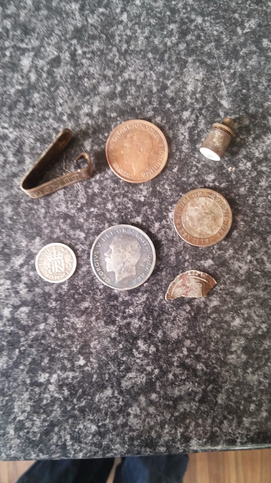 some metal detecting finds