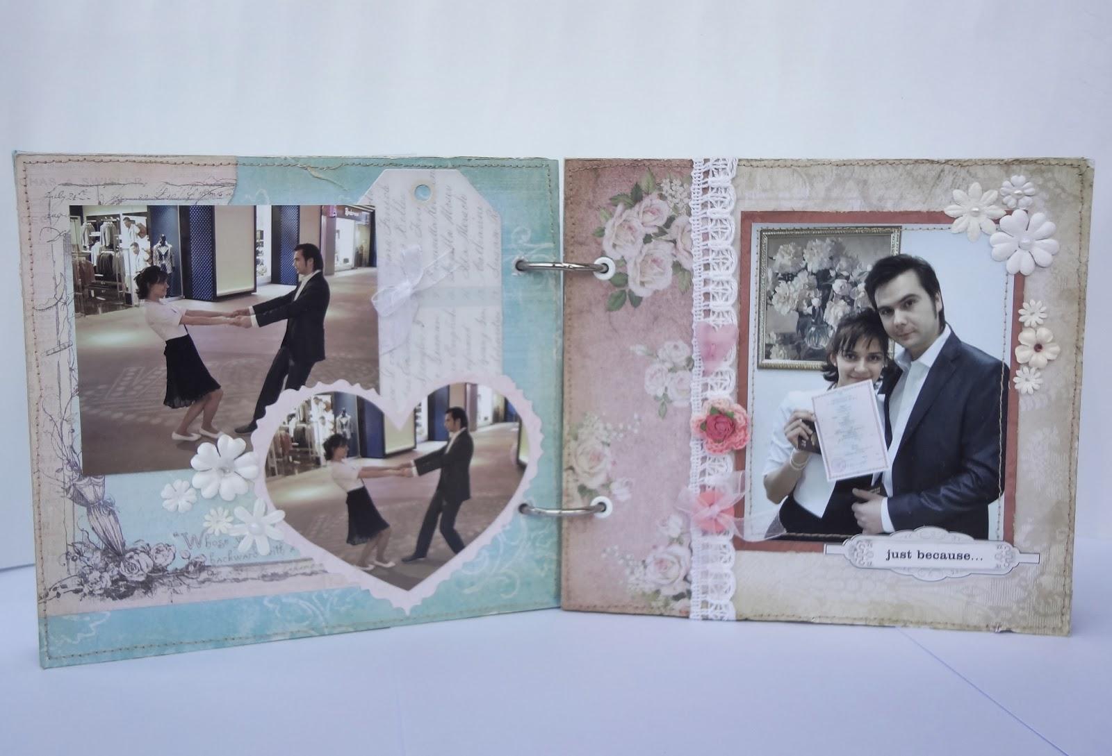 Скрапбукинг своими руками свадебный альбом